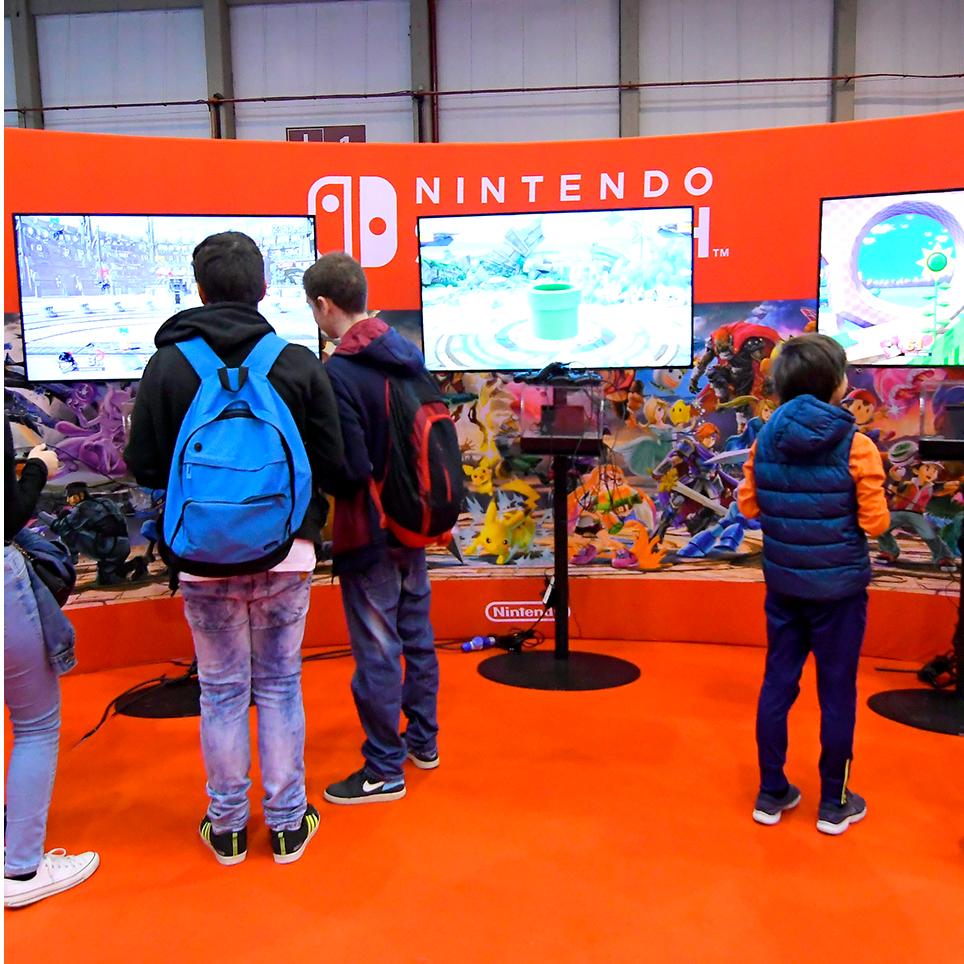 Imagem Área Nintendo Iberanime