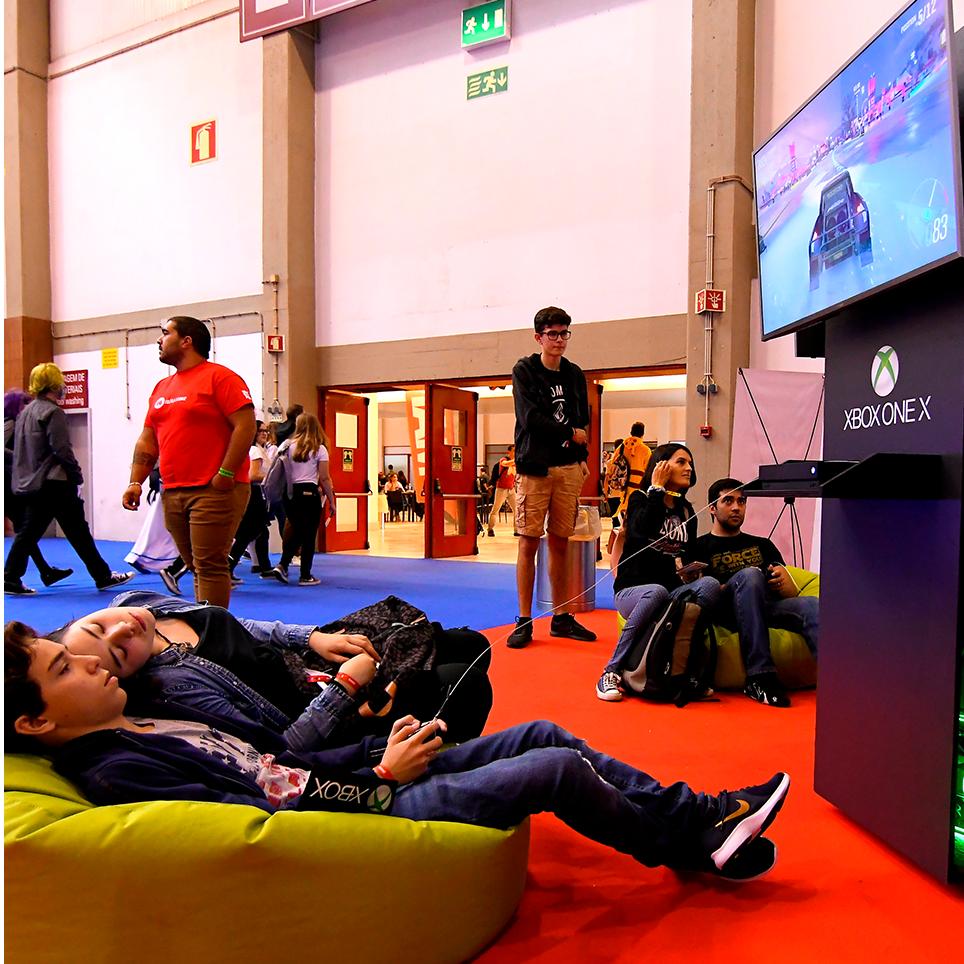 Imagem Área Microsoft Xbox