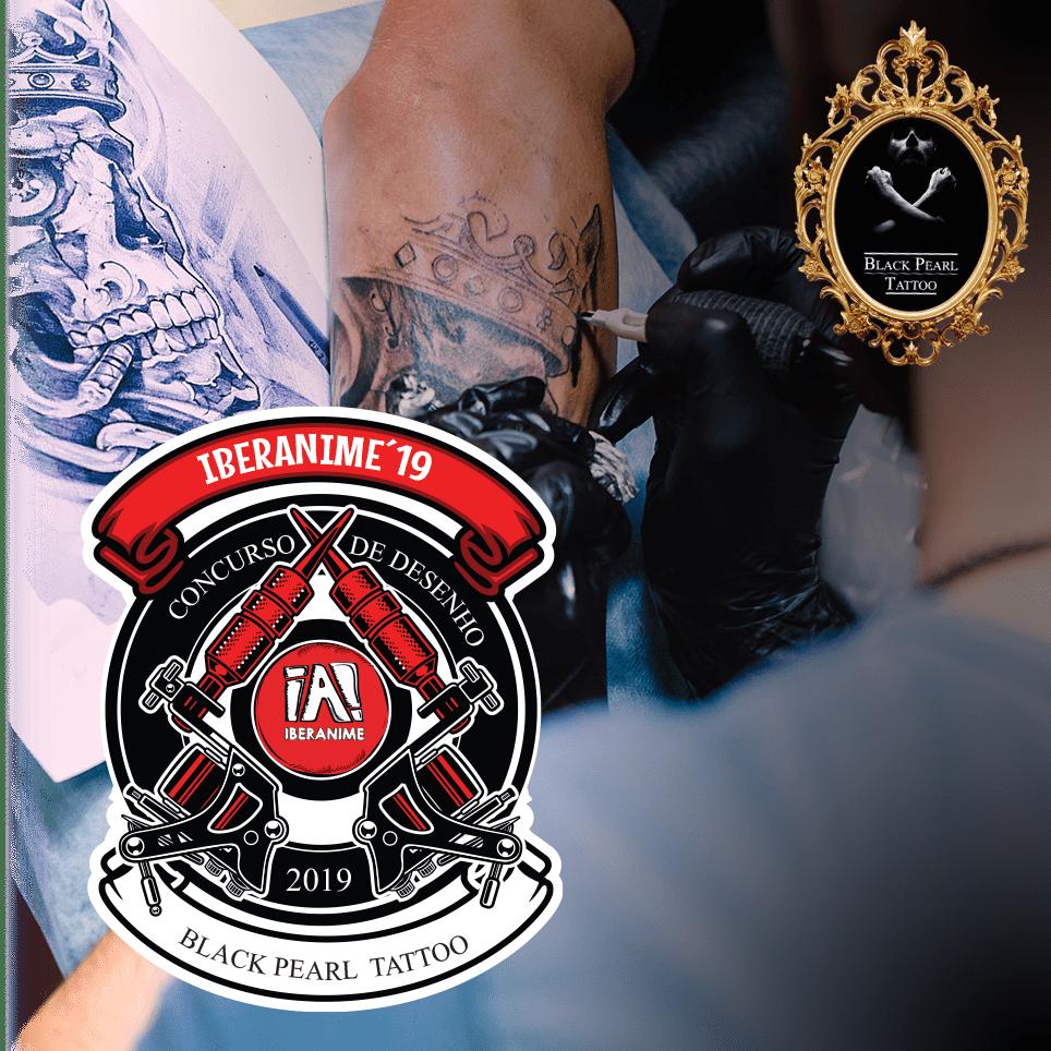 Imagem Área Concurso de Desenho Black Pearl Tattoo Iberanime