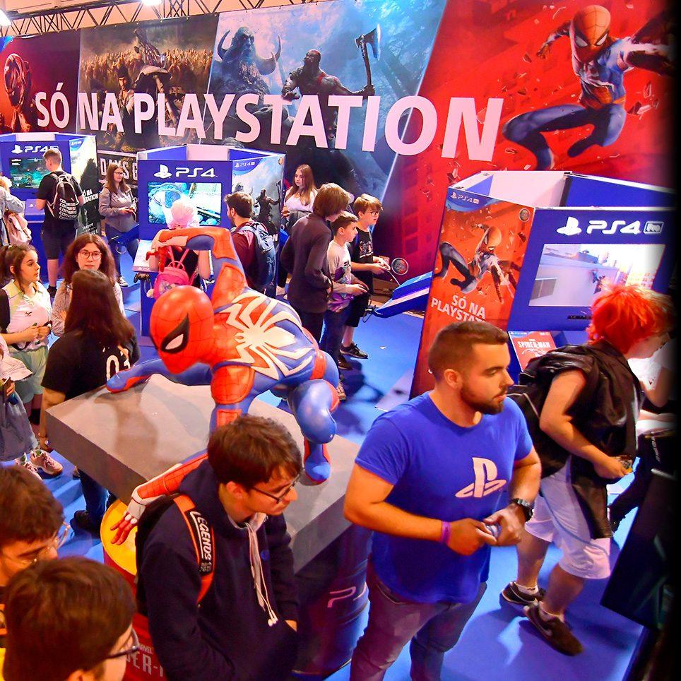Imagem Área Sony PlayStation IberanimeOPO19